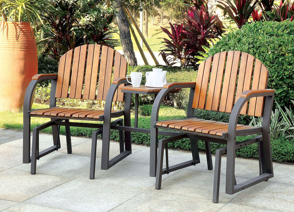 Furniture Of America Perse Rocking Chair Set