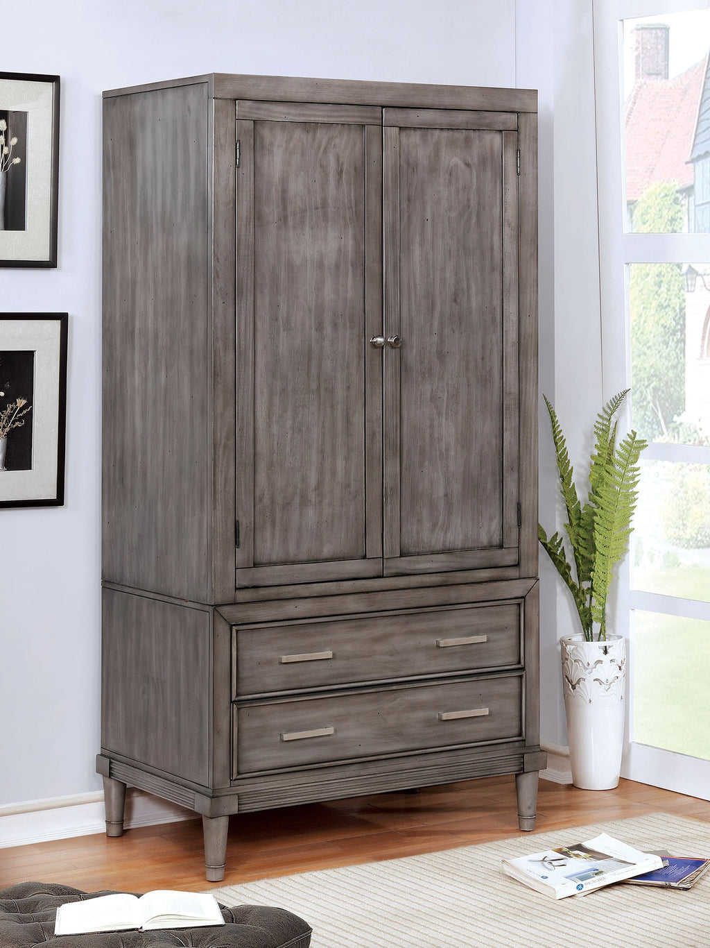 Furniture Of America Daphne Armoire