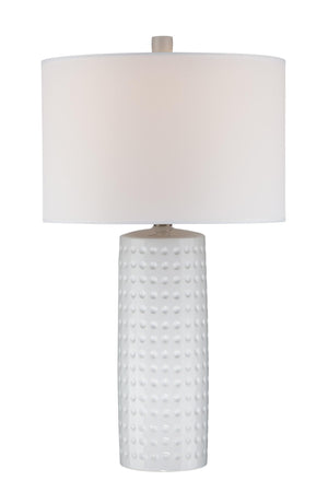 Lite Source LS-21979WHT Diandra Table Lamp * (CURRENTLY ON FURNITURE SHOWROOM FLOOR)