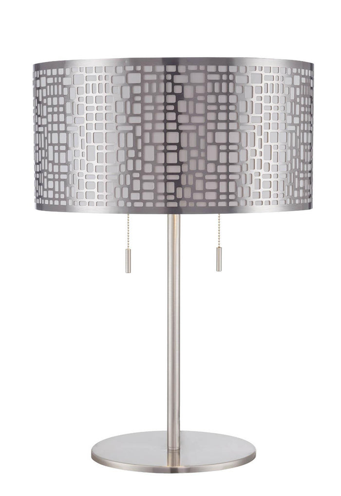Lite Source LS-22174PS Torre 2 Light Table Lamp * (CURRENTLY ON FURNITURE SHOWROOM FLOOR)