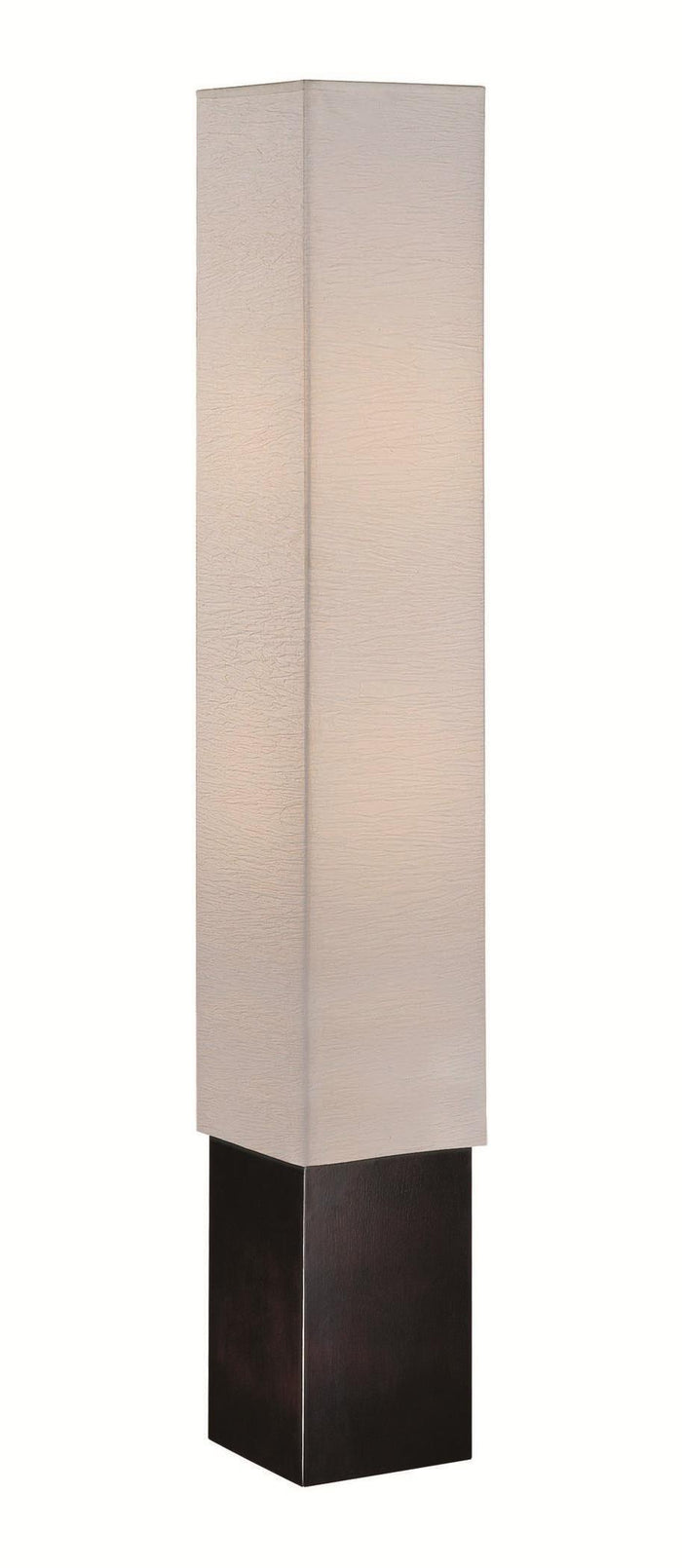 Lite Source LS-81277 2 Light Floor Lamp Dark Walnut Paper Shade * (CURRENTLY ON FURNITURE SHOWROOM FLOOR)