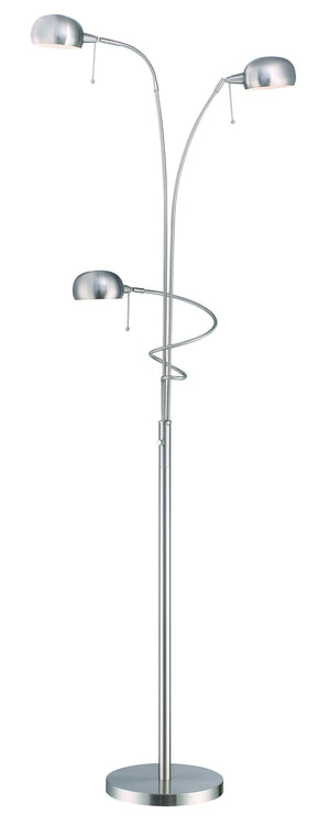 Lite Source LS-82100PS Denzel Floor Lamp * (CURRENTLY ON FURNITURE SHOWROOM FLOOR)