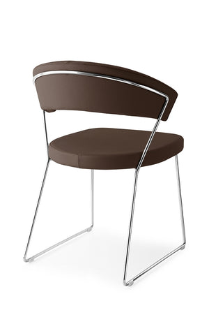 Connubia Calligaris CB/1022-LH New York Dining Chair