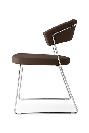 Connubia Calligaris CB/1022-V New York Dining Chair