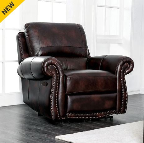 Astounding Furniture Of America Edmore Power Recliner Chair Bralicious Painted Fabric Chair Ideas Braliciousco