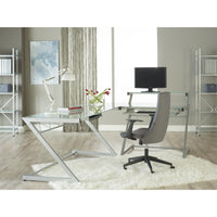 Z DELUXE LARGE DESK WITH SHELF - Fast Ship Furniture