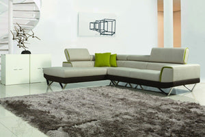 Modern Sectional Sofas with Adjustable Headrest