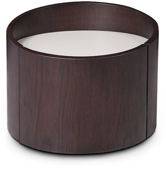 Brown Oak Nightstand