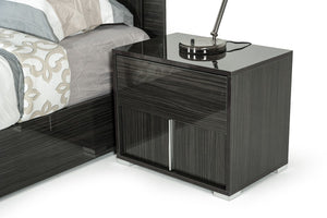 Grey Nightstand