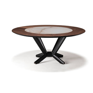 Cattelan Italia Planer Ker-Wood Round Dining Table