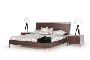 Nova Domus Conner Modern Dark walnut Bedroom Furniture Set