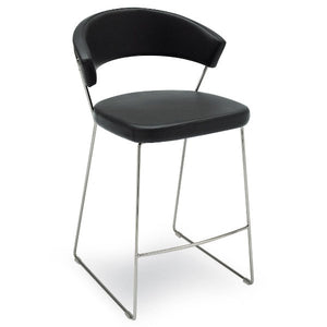 Connubia Calligaris CB/1087-LH New York Counter Stool