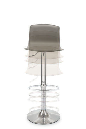 Connubia Calligaris CB/1345-LH Egg Adjustable Stool