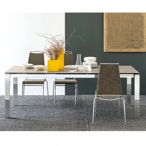 Tavolo Allungabile Vetro Calligaris.Baron Ceramic Dining Table