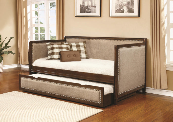 Coaster Furniture Traditional Daybed with Upholstered Sides