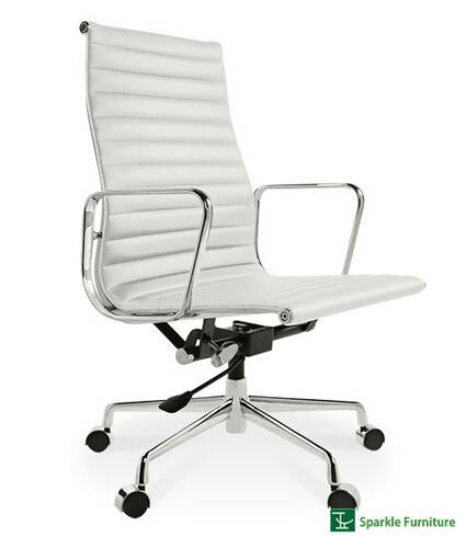Super Eames Style Replica High Back Aluminum Office Chair In White Genuine Leather Forskolin Free Trial Chair Design Images Forskolin Free Trialorg