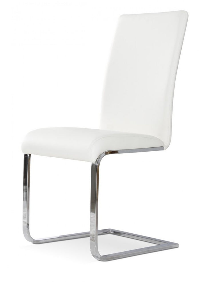 Crane - Modern White Dining Chair (Set of 2)
