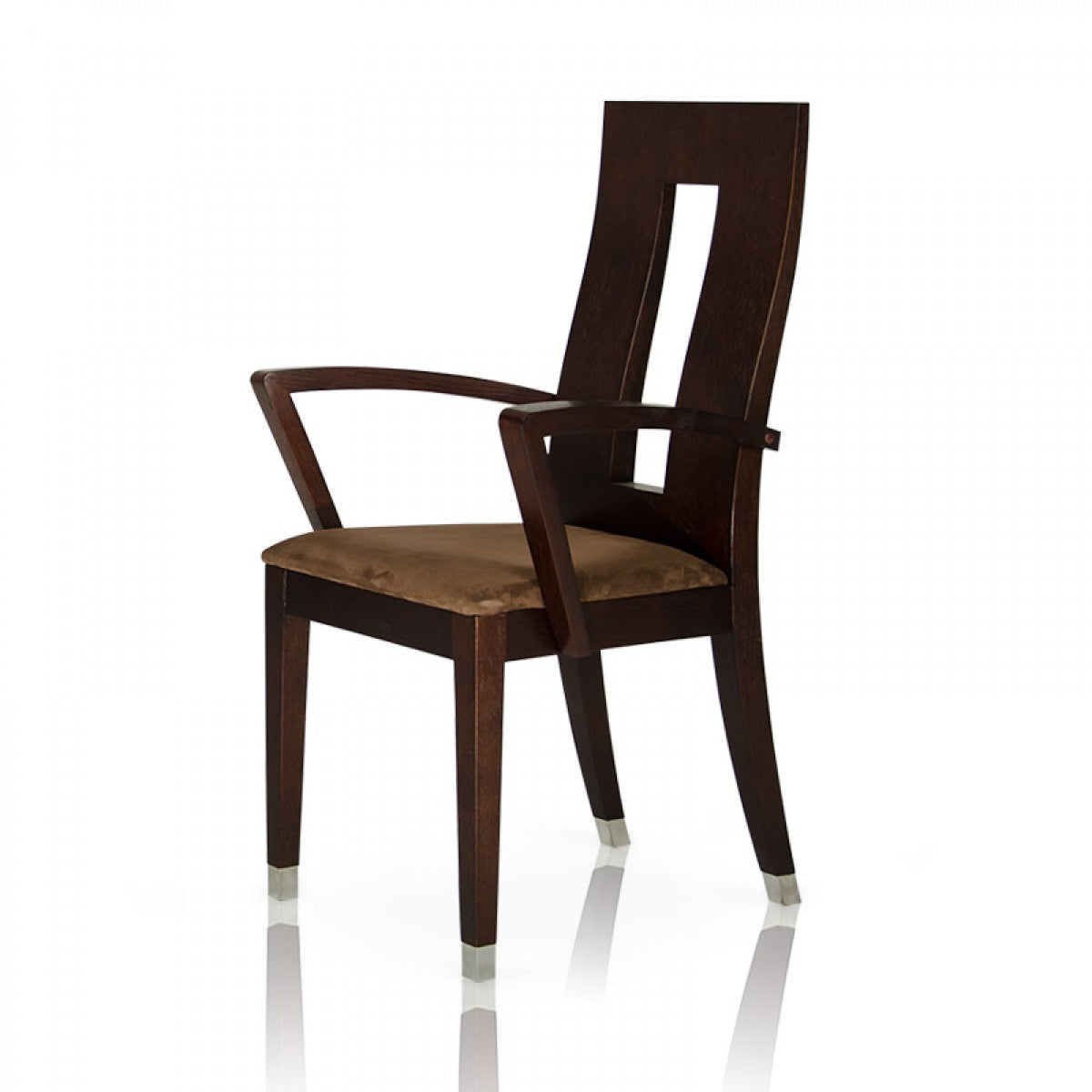 Thor   Modern Wenge Dining Chair (Set Of 2)