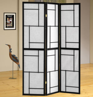 Coaster Folding Screens Three Panel