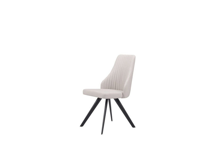 Modrest Blevin Modern Grey Leatherette Dining Room Chair