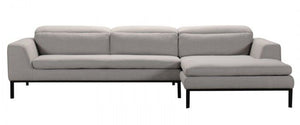 Divani Casa Clayton Modern Fabric Sectional Sofa
