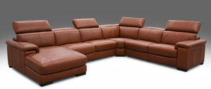 HTL Leather Power Recliner W/ Power Headrests  6 Piece Sectional Sofa RS-13325-PR * (CURRENTLY ON SHOWROOM FLOOR)