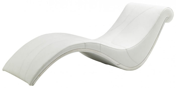 Divani Casa Essen - Modern Leather Leisure Lounge Chaise