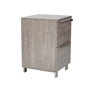 UNIQUE FURNITURE KALMAR DESK HIGH 2 DRAWER FILE PEDESTAL