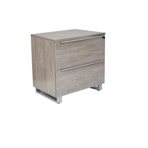 UNIQUE FURNITURE KALMAR 2 DRAWER LATERAL FILE