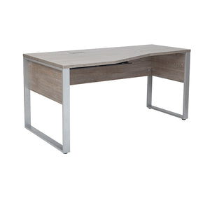 "UNIQUE FURNITURE KALMAR 63"" LEFT CRESCENT DESK"