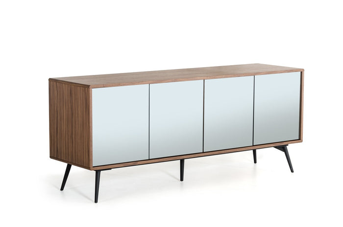 Modrest Kennedy Modern Walnut Sideboard
