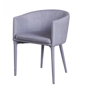 Fabric upholstered dining chair