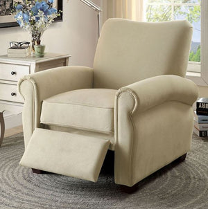 Furniture Of America Lettie Fabric Recliner Chair