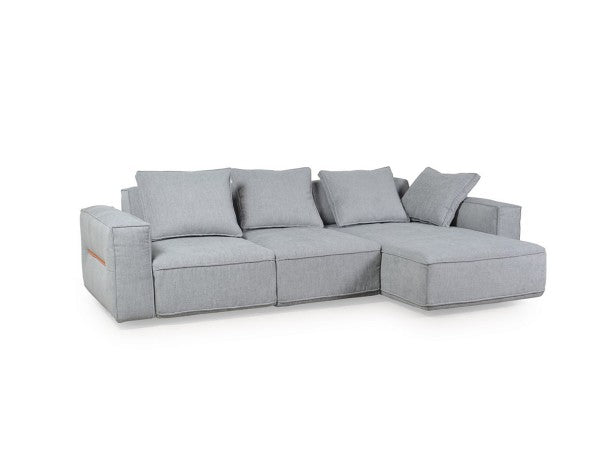 Belle Maison Moroni  297- Josie Fabric Sectional Sofa