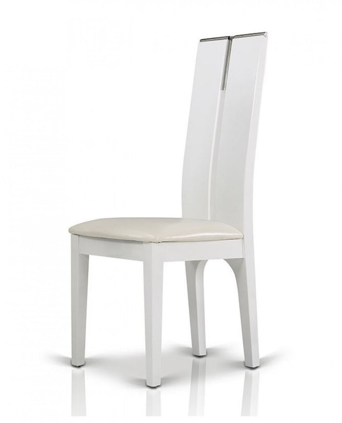 Modrest Maxi White Gloss Dining Chair