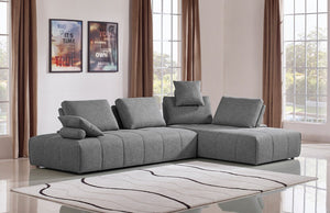 Eco-Leather Sectional Sofa