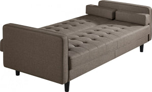 Divani Casa Kestin Modern Brown Sleeper Sofa Bed & Chair Set
