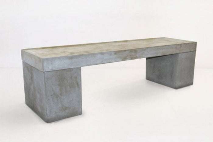 Modrest Monopoly Modern Concrete Outdoor Bench