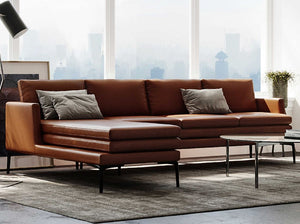 Moroni 439 - Rica Tan Sectional Sofa