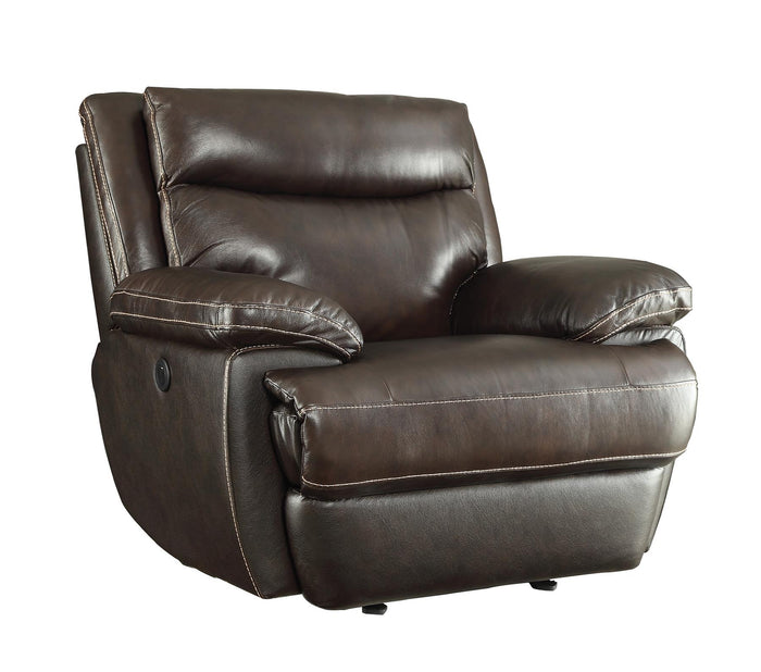 MacPherson Casual Power Recliner Chair with Built-In USB Charging Port
