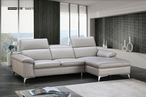 Sofas currently displayed on showroom floor