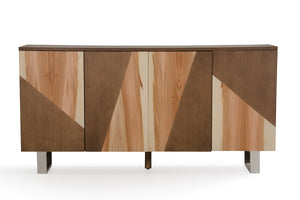 Walnut Veneer Sideboard