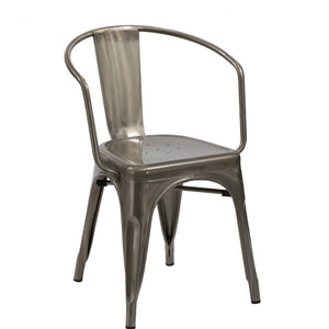 Modern Steel Dining Chairs
