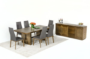 Modrest Cologne Modern White Wash Oak Dining Table