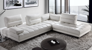 Moroni 556 Teva 3 Piece Motion Leather Sectional
