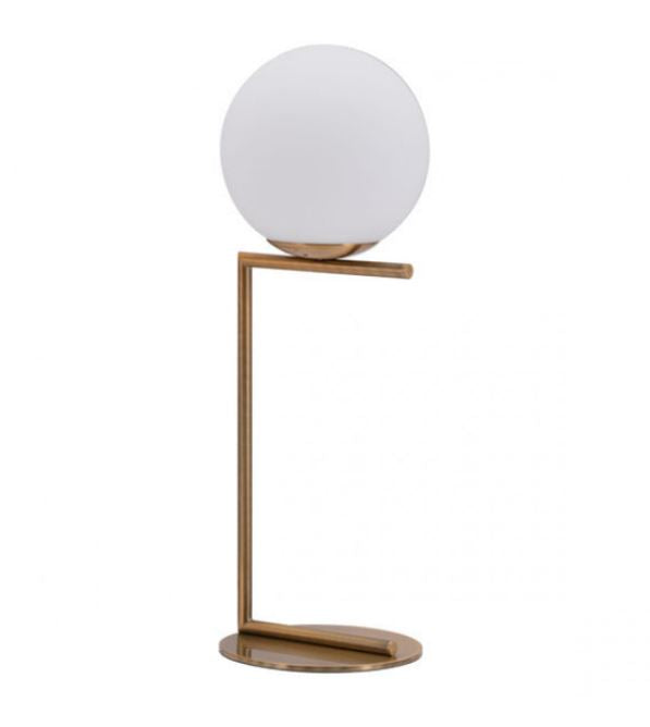 Zuo Modern Belair Table Lamp Brass