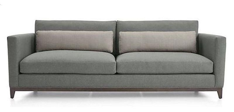 Straight Arm Modern Custom Sofa