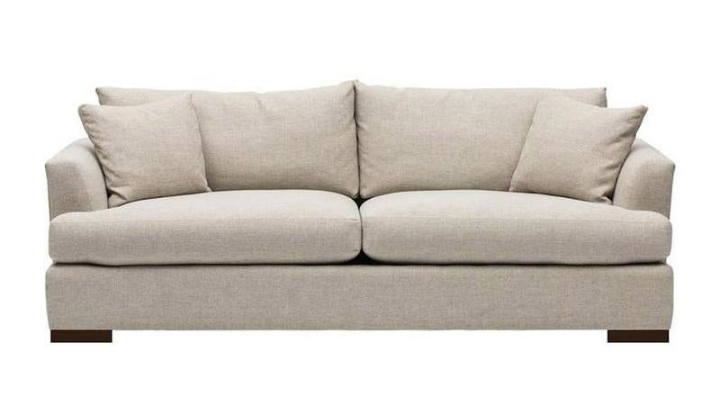 Contemporary Custom Sofa with Loose Cushions