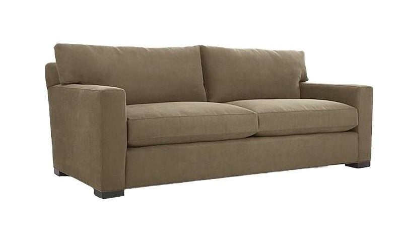 Casual Modern Custom Sofa with Square Arms