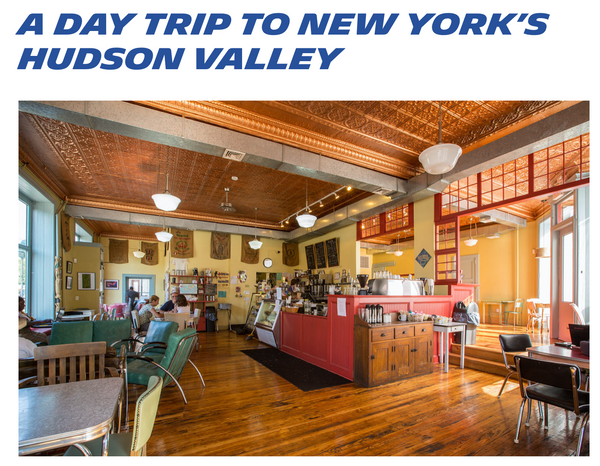 Our Beacon Shop featured in Michelin's day trip guide to the Hudson Valley